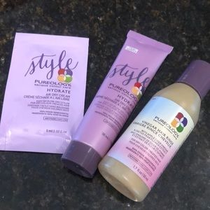 Pureology Hydrate Air dry Cream & Vinegar Rinse
